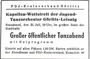 Kapellenwettstreit 1948